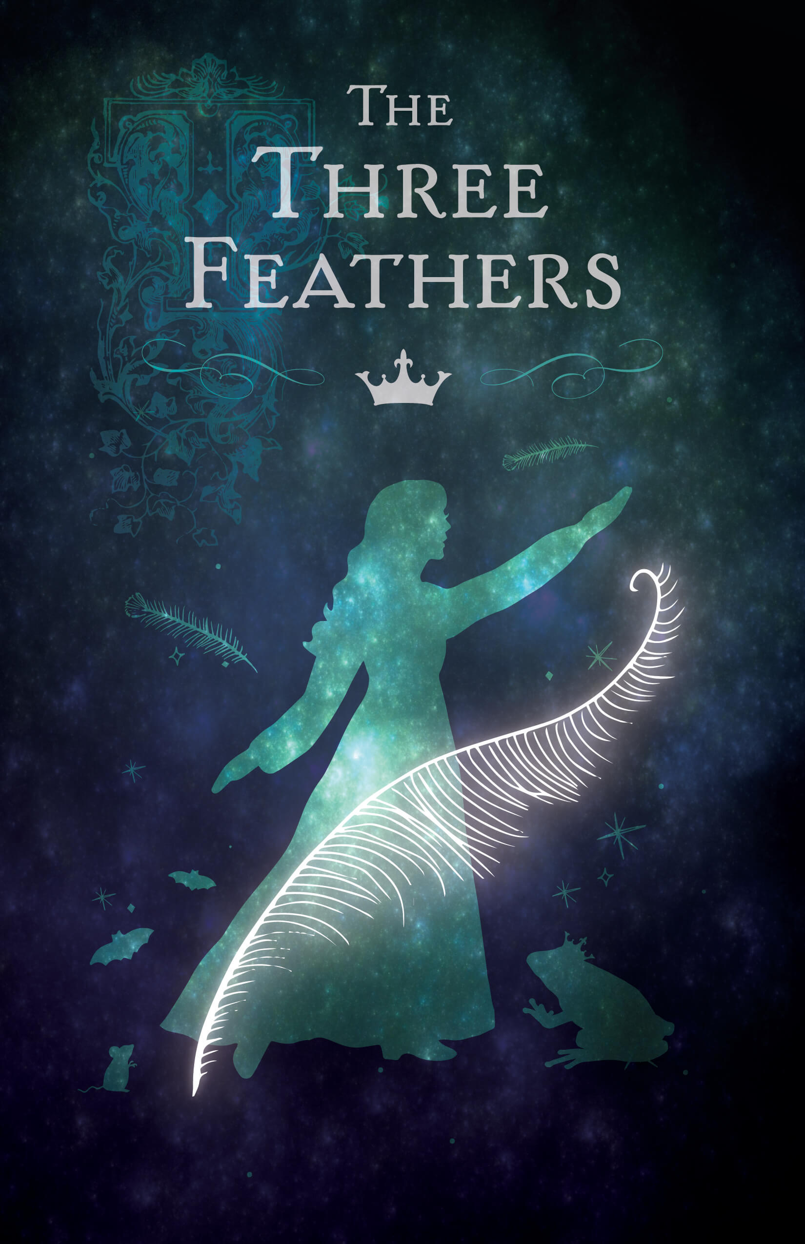 Virginia Tech School of Performing Arts show poster - The Three Feathers