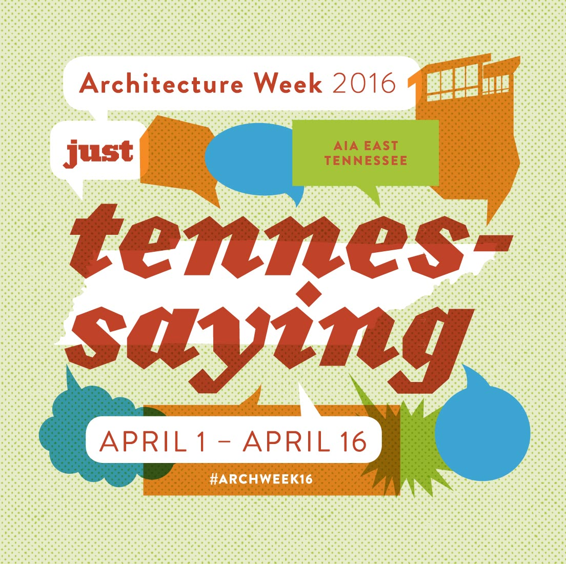 AIA East TN Architecture Week 2016 graphic