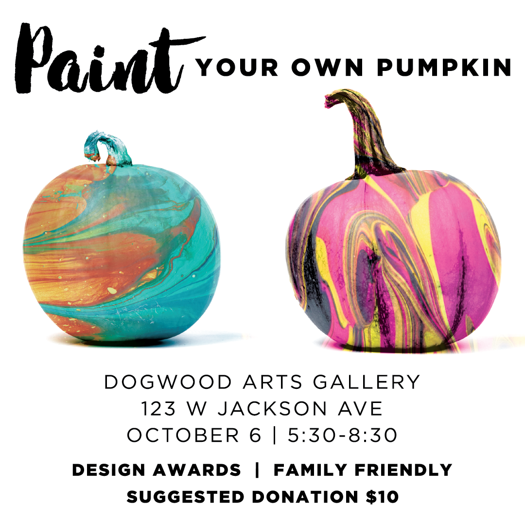 Dogwood Arts First Friday October 2017 graphic
