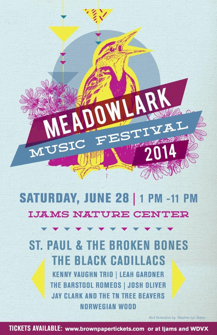 Meadow Lark Music Festival poster