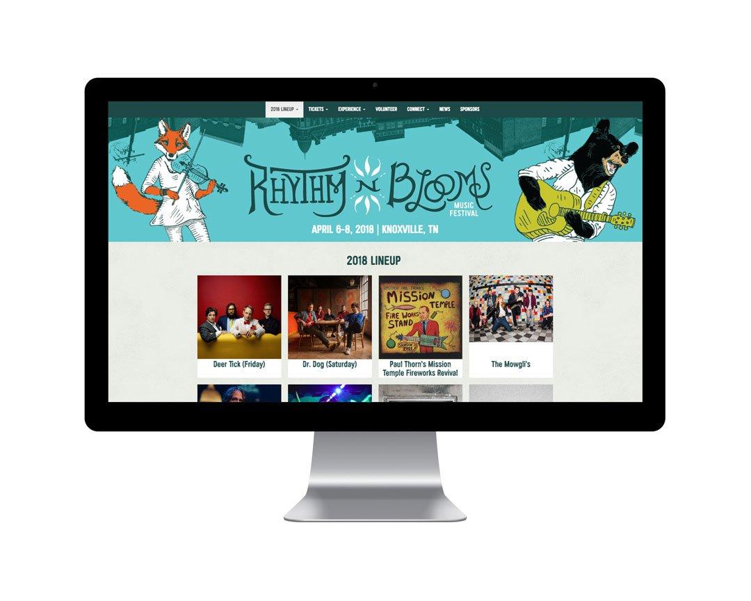 Rhythm N Blooms Music Festival website