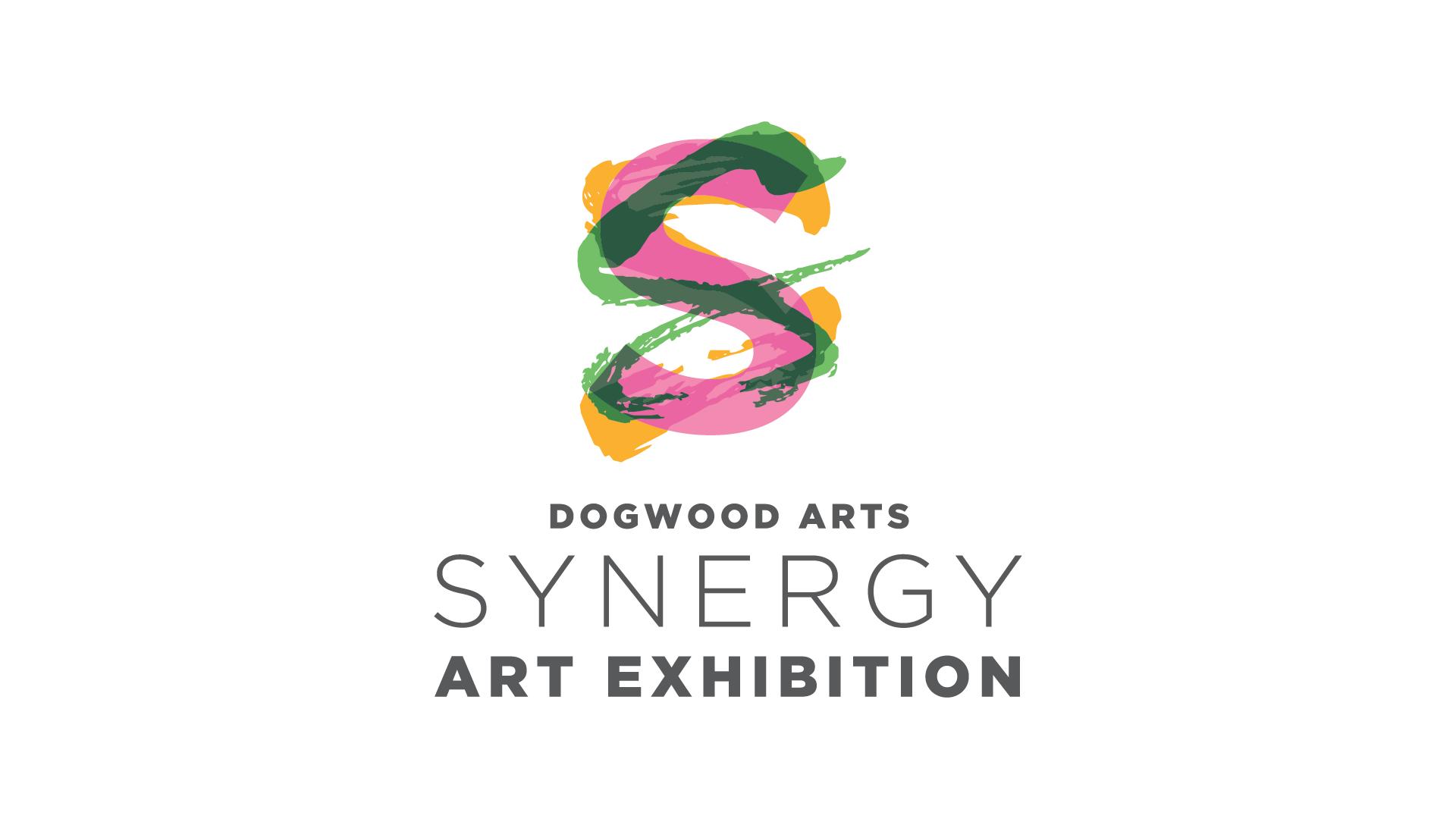 Dogwood Arts Synergy Art Exhibition logo
